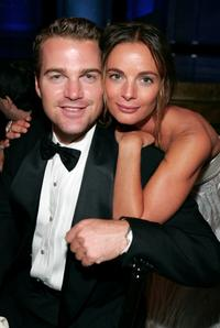Chris O'Donnell and Gabrielle Anwar at the 35th AFI Life Achievement Award tribute to Al Pacino.