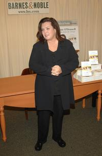 Rosie O'Donnell at the New York signs her new book