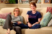 Annette Bening as Nic and Julianne Moore as Jules in