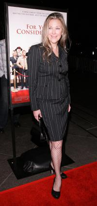 Catherine O'Hara at the Los Angeles premiere of