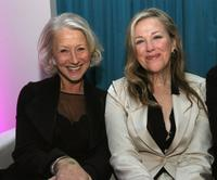 Catherine O'Hara and Dame Helen Mirren at the Lexus Critic's Choice Awards after party.