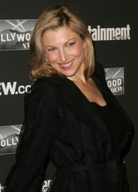 Tatum O'Neal at the Entertainment Weekly Academy Awards viewing party.