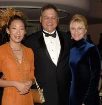 Sandra Oh, Ed O'Ross and Dee Wallace Stone at the reception for MMPA's 13th Annual Diversity Awards.