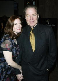 Annette O'Toole and Michael McKean at the Global Vision for Peace launch of Artists for the United Nations.