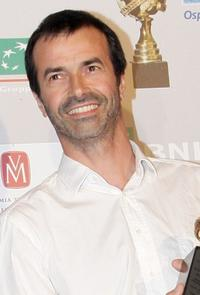 Andrea Occhipinti at the Globo D'Oro Foreign Press Association Awards.