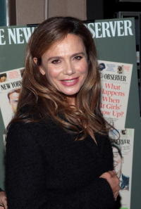 Actress Lena Olin at the N.Y. premiere of