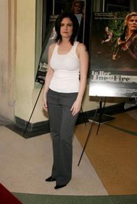 Jill Bennett at the premiere of