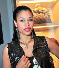 Kali Hawk at the Juicy Couture celebration for Fashion's Night Out.