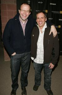 Thomas McCarthy and Josh Pais at the premiere of