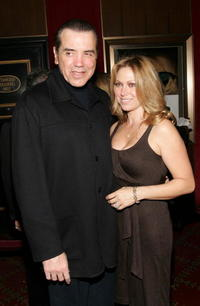 Chazz Palminteri and his wife Gianna Ranaudo at the World premiere of