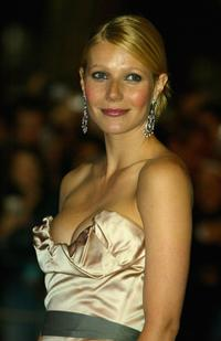 Gwyneth Paltrow at the UK premiere of