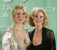 Gwyneth Paltrow and her mother Blythe Danner at the 2004 Crystal & Lucy Awards -