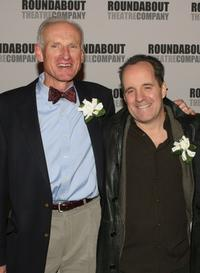James Rebhorn and John Pankow at the premiere of