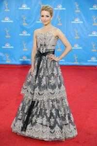 Dianna Agron at the 62nd Annual Primetime Emmy Awards.