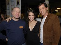Director Uwe Boll, Jackie Tohn and Michael Pare at the 2007 Hollywood Film Festival.
