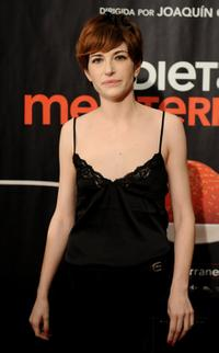 Marina Gatell at the Madrid premiere of