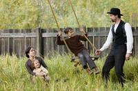 Mary-Louise Parker, Brooklynn Proulx, Dustin Bollinger and Brad Pitt in
