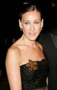 Sarah Jessica Parker at the Ralph Lauren 2008 Fashion Show at Mercedes-Benz Fashion Week Spring 2008.