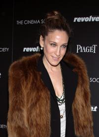 Sarah Jessica Parker at the New York screening of