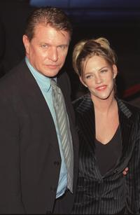 Tom Berenger and wife Trish at the premiere of