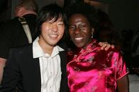 Aaron Yoo and Dionne Audain at the after party of the premiere of