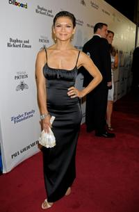 Nia Peeples at the Children Uniting Nations' 9th annual awards celebration and viewing dinner.