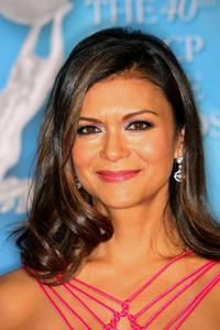 Nia Peeples at the 40th NAACP Image Awards.
