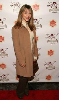 Ashley Peldon at the opening night of