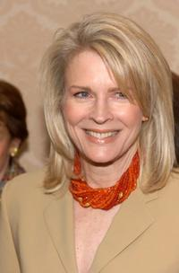 Candice Bergen at a luncheon in New York City were she was honored as the Mother of the Year.