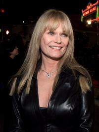 Valerie Perrine at the premiere of