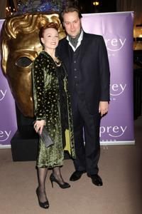 Emily Allen and Christian McKay at the nominees party of Orange British Academy Film Awards.