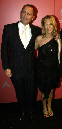 Sean Pertwee and Jackie Hamilton Smith at the Garrard jewellers launch party.