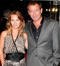 Jacqui Hamilton-Smith and Sean Pertwee at the world premiere of