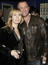 Jacqui Hamilton-Smith and Sean Pertwee at the UK premiere of