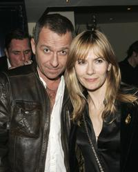Sean Pertwee and his wife Jacqui Hamilton-Smith at the after show party following the UK premiere of