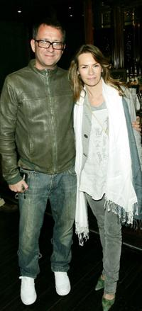 Sean Pertwee and his wife Jackie at the screening of