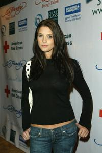 Ashley Greene at the Ed Hardy Hurricane Relief concert.
