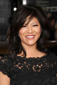 Julie Chen at the premiere of