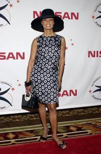 Valarie Pettiford at the Rowell Foster Children's Positive Plan 3rd Annual High Tea.