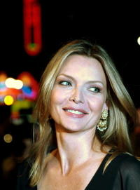 Michelle Pfeiffer at the