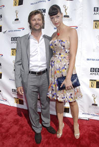 Grant Show and Pollyanna McIntosh at the 5th Annual Primetime Emmy Nominees' BAFTA Tea Party in California.