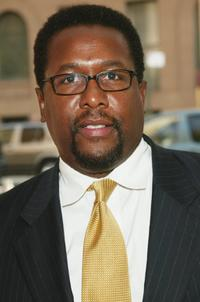Wendell Pierce at the premiere screening of