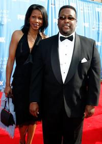 Wendell Pierce and Guest at the 38th Annual NAACP Image Awards.