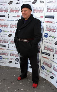 Steven Berkoff at the Theatregoers' Choice Awards.