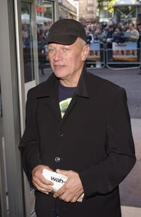 Steven Berkoff at the premiere