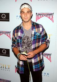 Skylar Astin at the after party of the premiere of