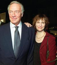 Christopher Plummer and Amanda Plummer at the premiere of