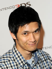 Harry Shum, Jr. at the Nintendo 3DS Exclusive Launch Event in California.
