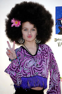Joey King at the Children Affected by AIDS Foundation's 17th Annual Dream Halloween Event.