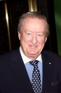 Tom Poston at the preview of NBC's 2002-2003 prime time schedule.